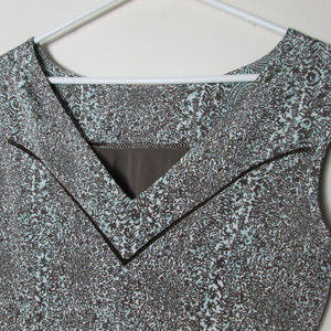 Tory Burch Dresses - Tory Burch Carter Print Sheath Dress mint brown